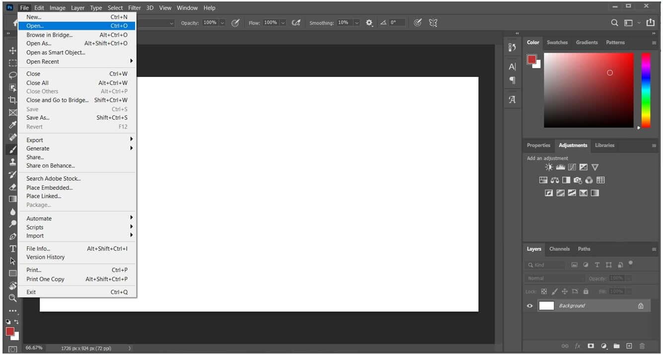 photoshop-open-file