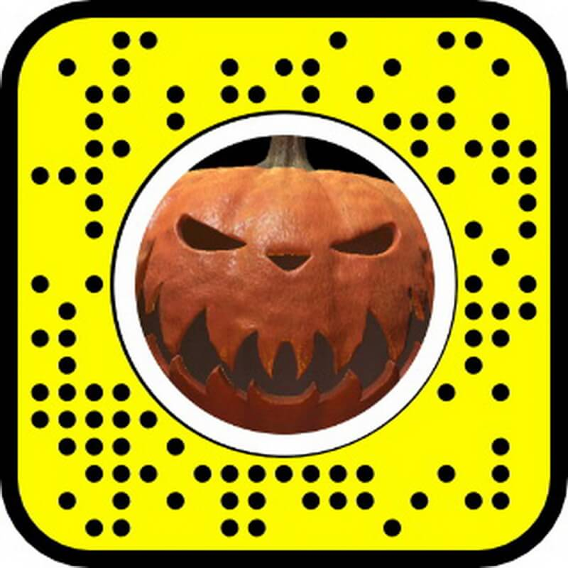 possessed pumpkin filter