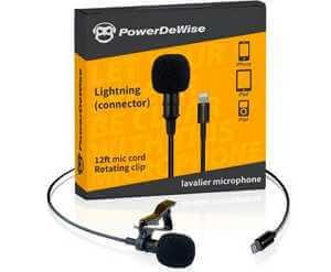 powerdewise lavalier microphone