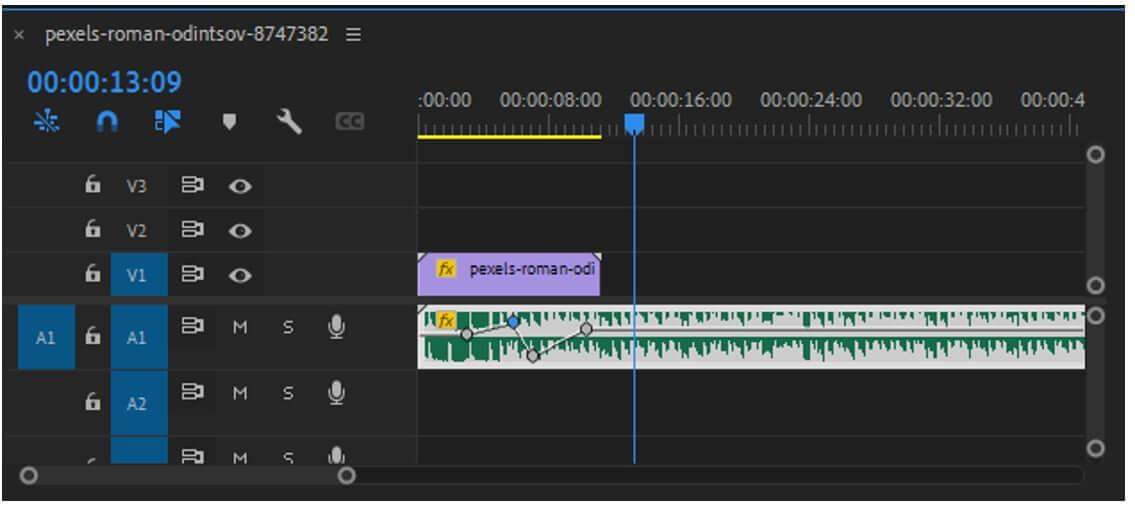 premiere pro audio keyframing