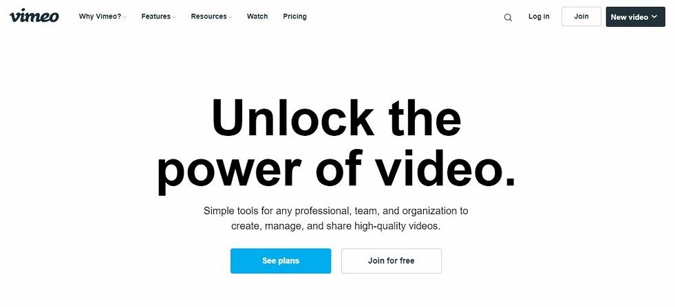 Vimeo promo video templates