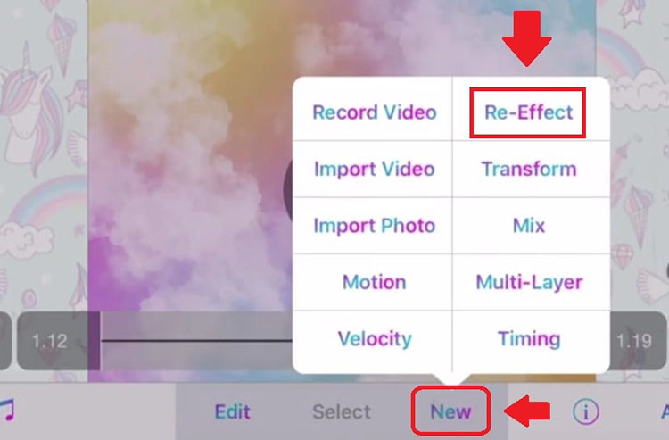 Video Star re-effect