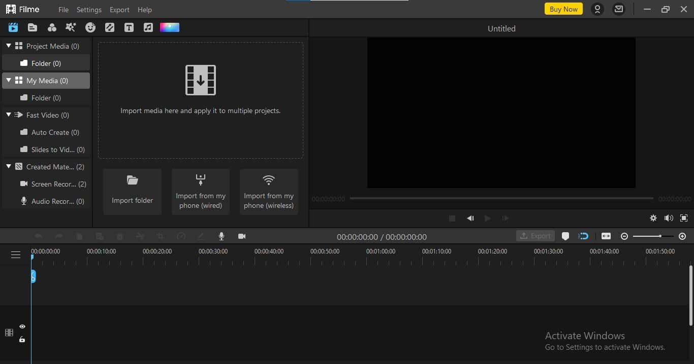 Filme Video recorder