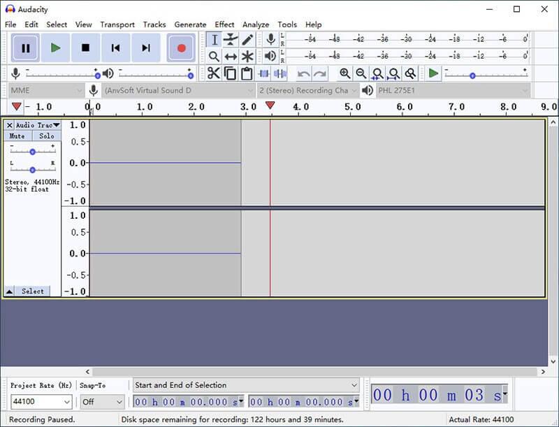 record audio audacity on windows