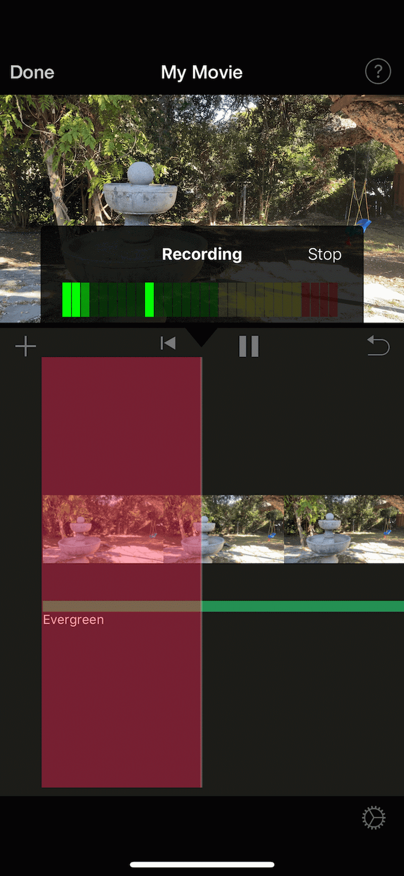 record voiceover in imovie