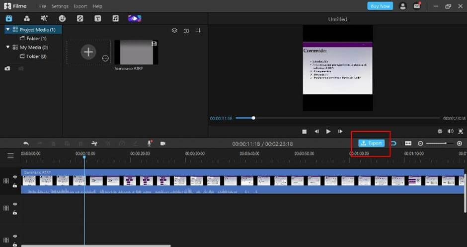 remove-audio-from-video-with-filme-export