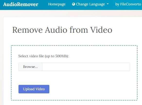 remove-audio-through-audioremover