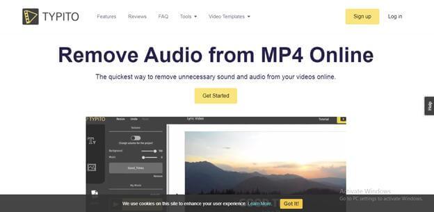 remove-audio-through-trpito