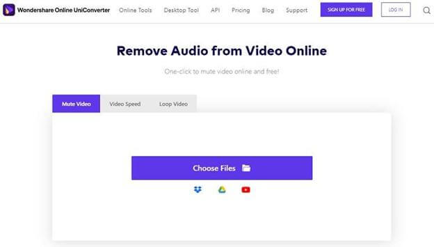 remove-audio-through-uniconverter