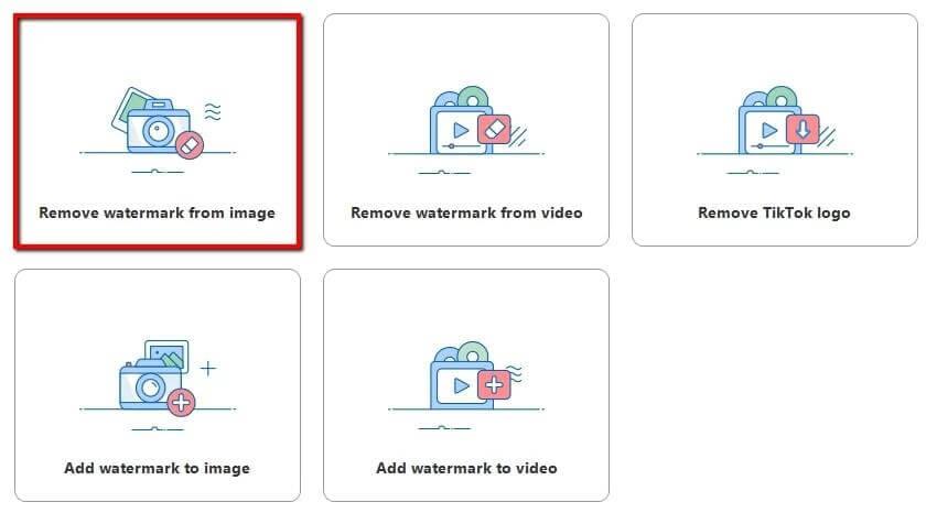remove getty images watermark using apowersoft watermark