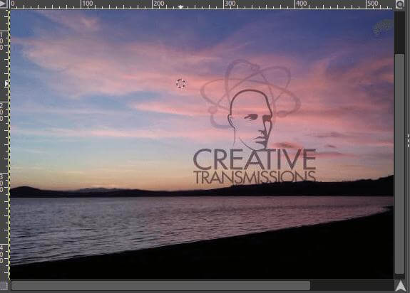 remove watermark by clone pattern