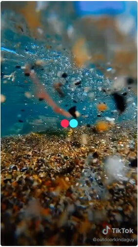 satisfying water video tiktok