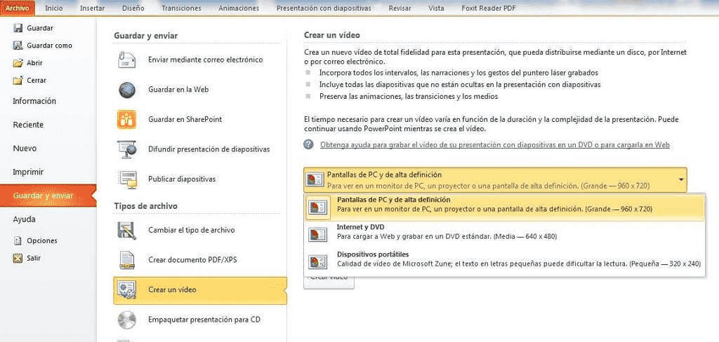 How to Save PowerPoint as Video
