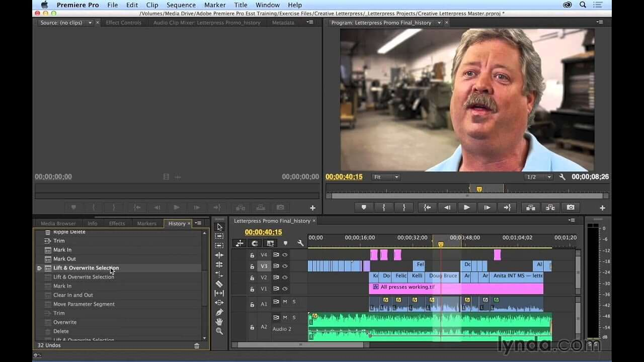select the state premiere pro