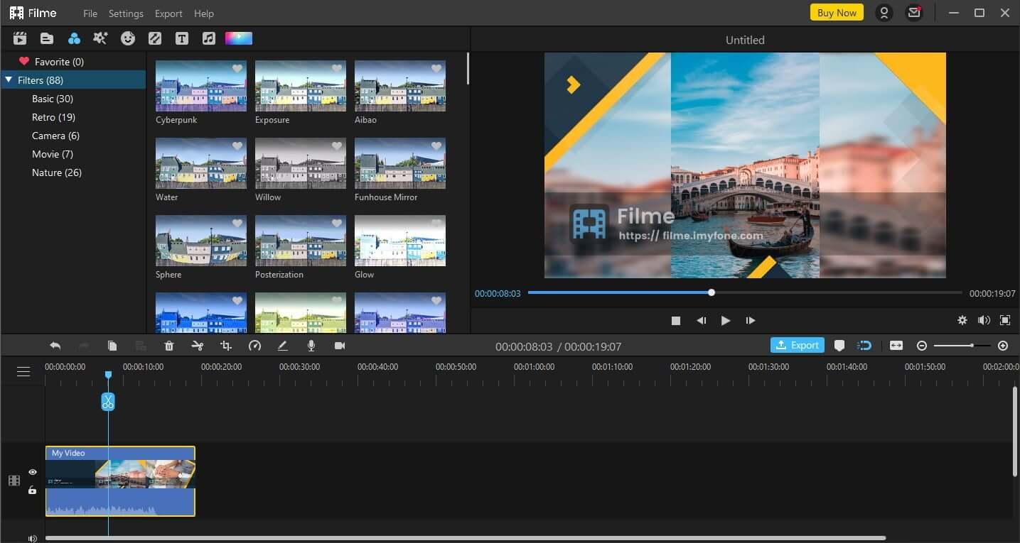 filme slideshow editing