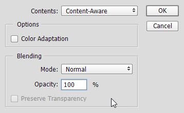 use content aware fill to remove watermarks3