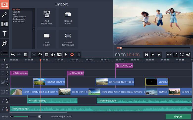use imovie to remove audio