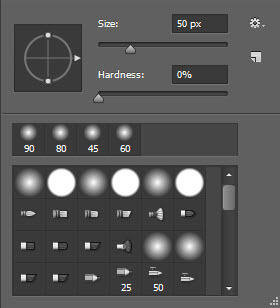 use spot healing brush tool to remove watermarks