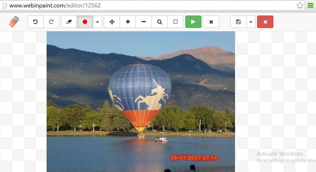 use webinpaint to remove watermark2