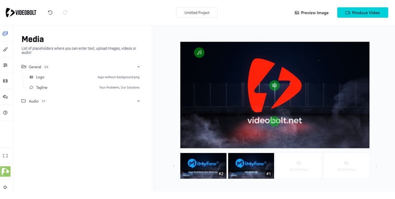 video bolt video intros