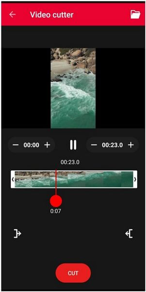 video cutter detach audio
