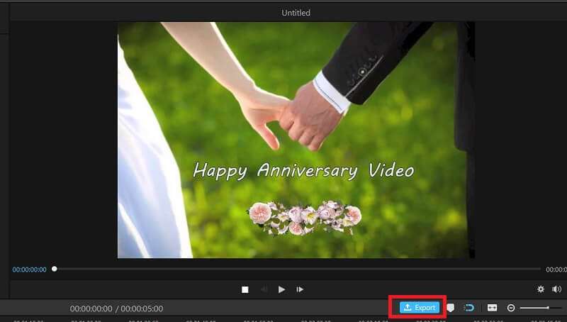 video export