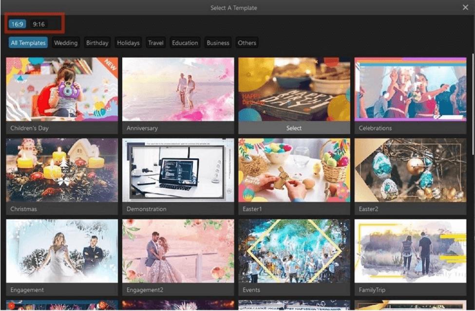 video-template