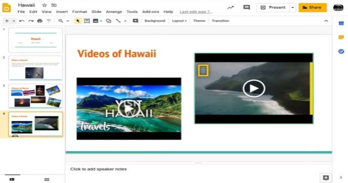How to Put a Video on Google Slides on iPhone