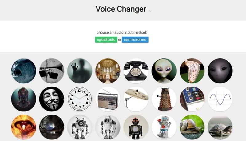 voice changer.io online