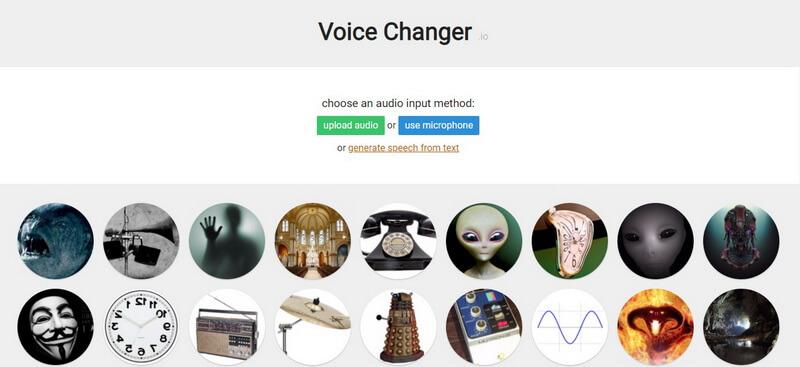 voice changer io