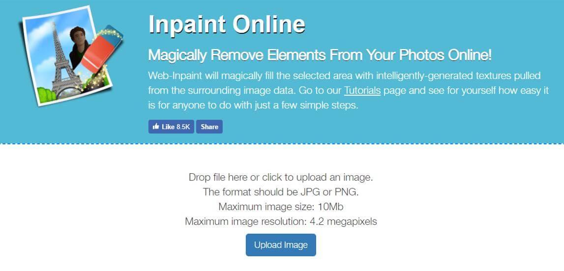 watermark remover webinpaint