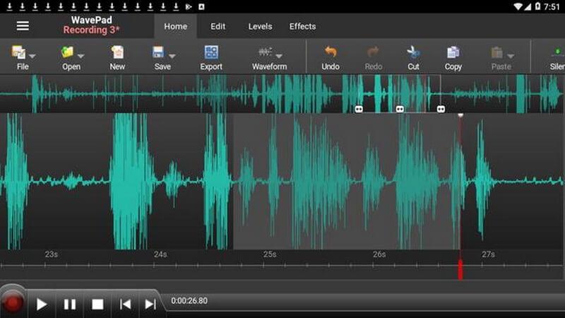 wavepad sound recorder