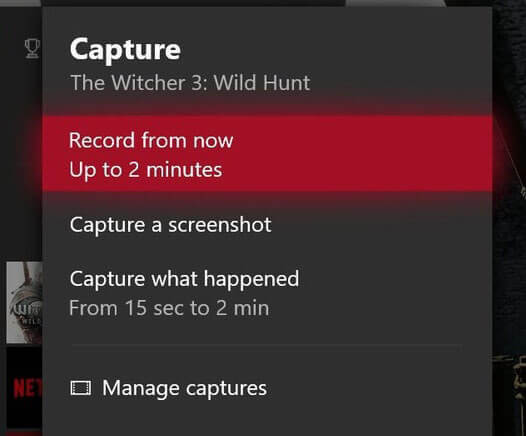 xbox one record from now
