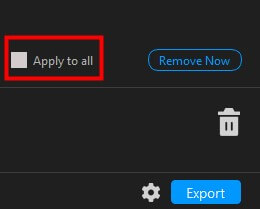 apply to all button