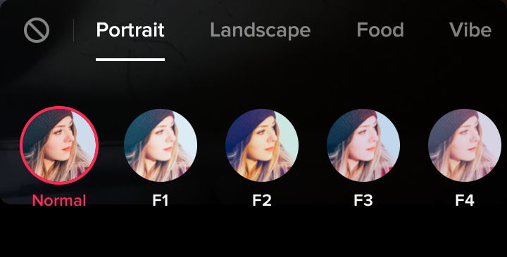 TikTok-filters