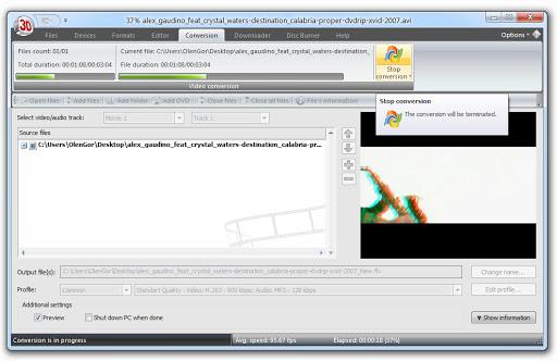 AXARA Media 2D to 3D Video Converter