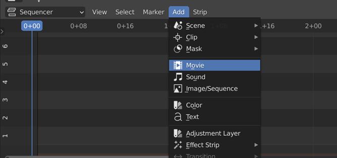 Blender Add Clip