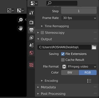 Blender Editor Type