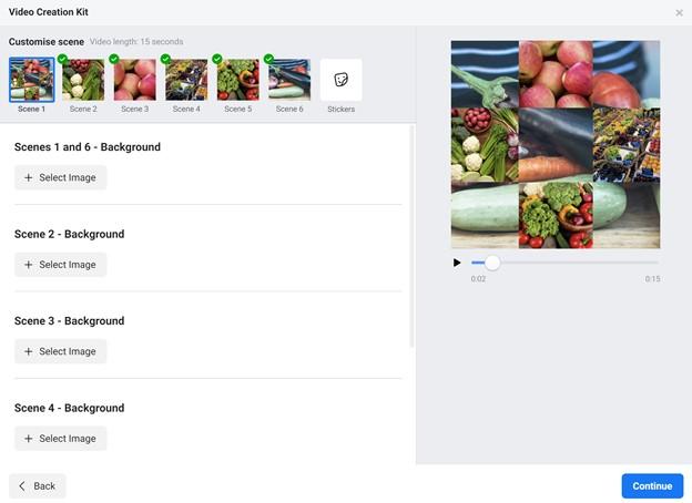 Facebook Customize Template
