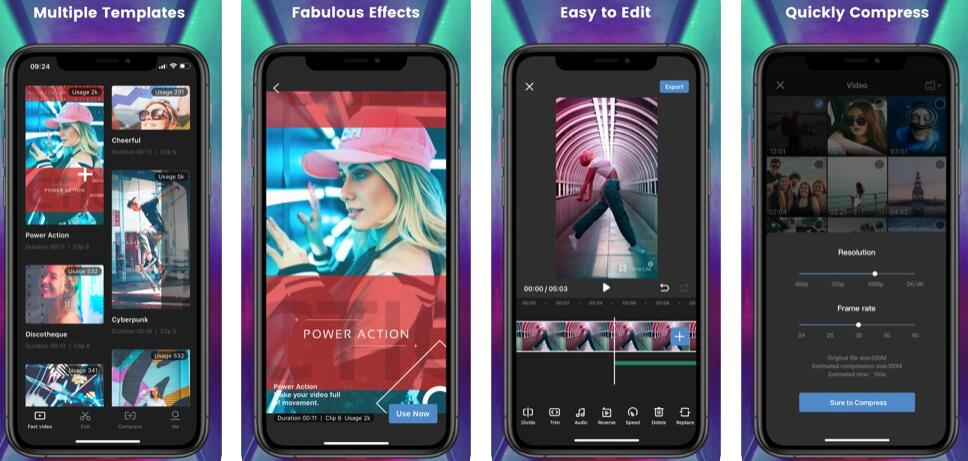 iMyFone Filme Lite Video Editing App