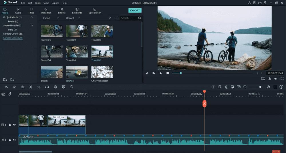 filmora video maker