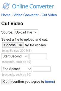 Online Converter Video Split