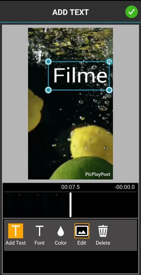 PicPlayPost Text