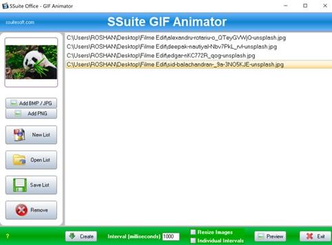 SSuit GIF Animator