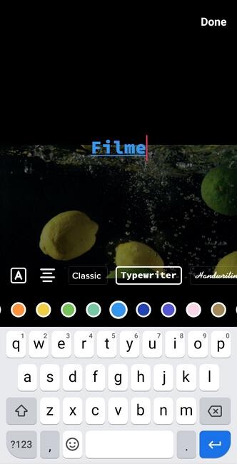 TikTok Color Font Sytle