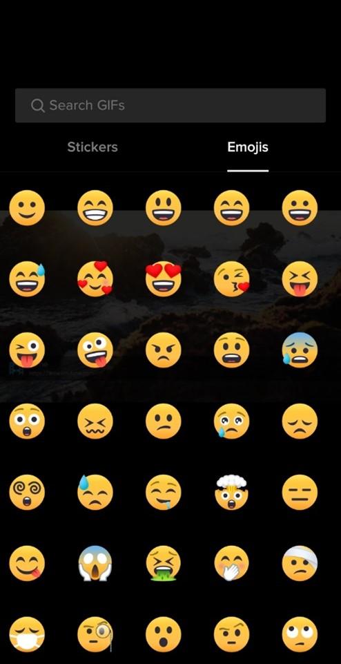 tiktok emojis