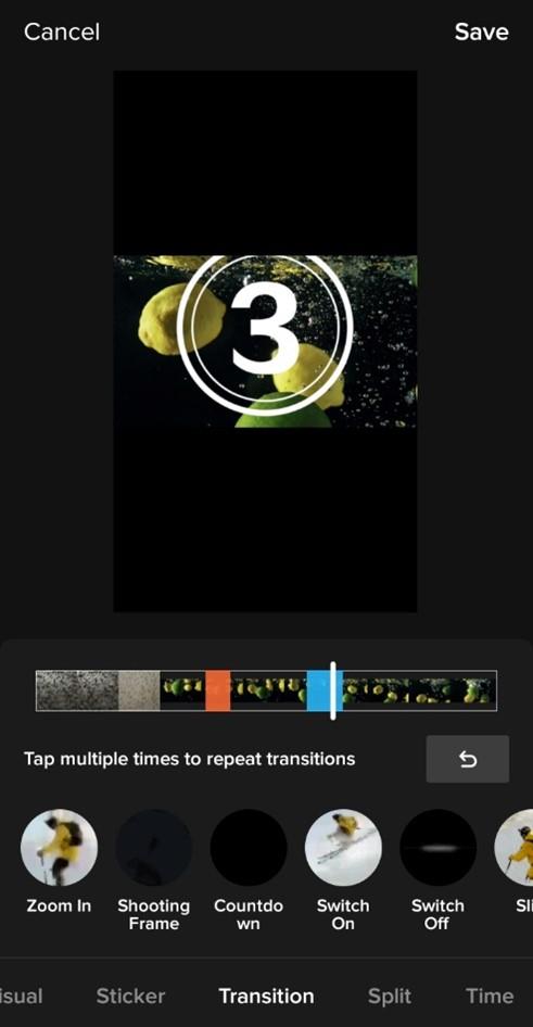 TikTok Transitions to Videos