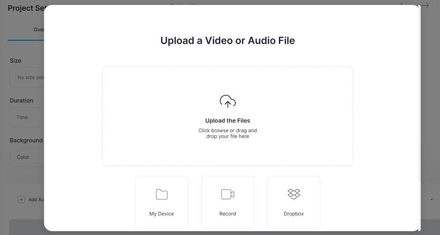 Veed Upload File