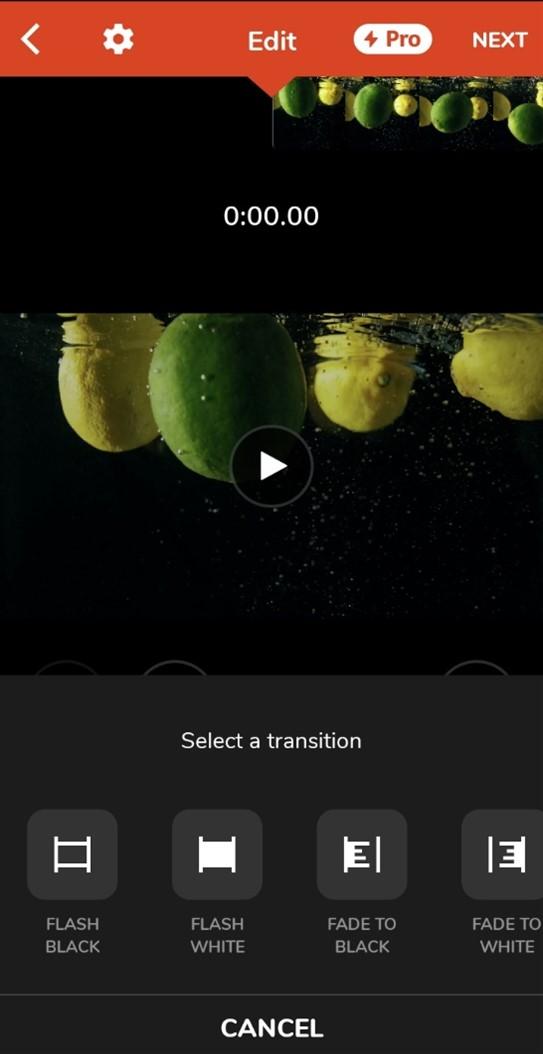 Videoshop Transitions