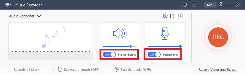 acethinker audio recorder input